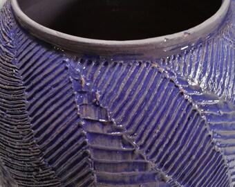 Vase blue/purple