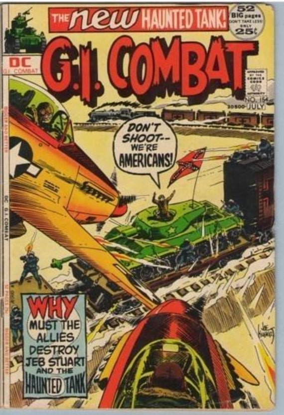 GI Combat 154 Jul 1972 VG+ (4.5)