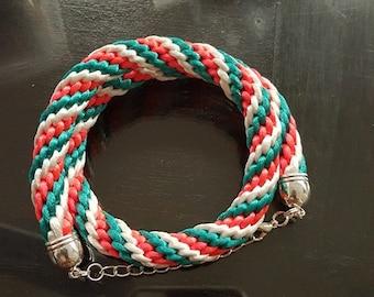 Twine Bracelet. Woven Bracelet.