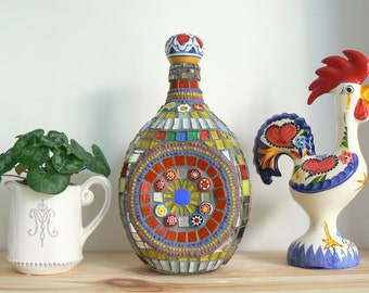 Mosaic Bottle Orient