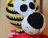 Crochet Toy Tiger , Amigurumi toy, Plush  cat, Crochet Animal, unique toy, handmade, 2016,  handmade, Super soft