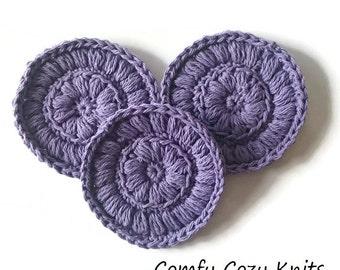 Crochet PATTERN - Facial Scrubbies, Face Cloths, Washcloths, DIY, Digital Download, PDF Pattern