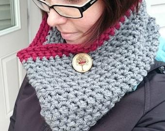 Crochet PATTERN - Urban Cowl