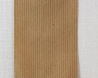 Lot of 10 kits gifts kraft 7 x 13.5 cm. envelope
