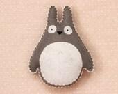 TOTORO PLUSHIE | Studio Ghibli Fan Art Plush My Neighbor Totoro
