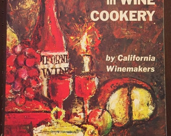 Adventures in Wine Cookery, 1965 vintage cookbook