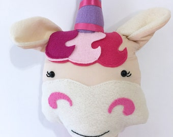 Cute Magical Unicorn Handmade doll