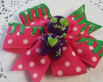 Voodoo doll - hair bow