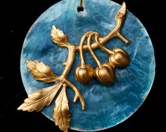 Cherry Pendent necklace