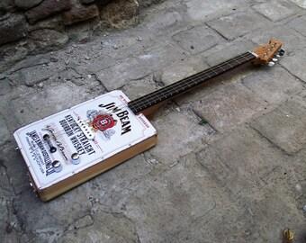"""Cigar Box Guitar """"Jim Beam"""""""