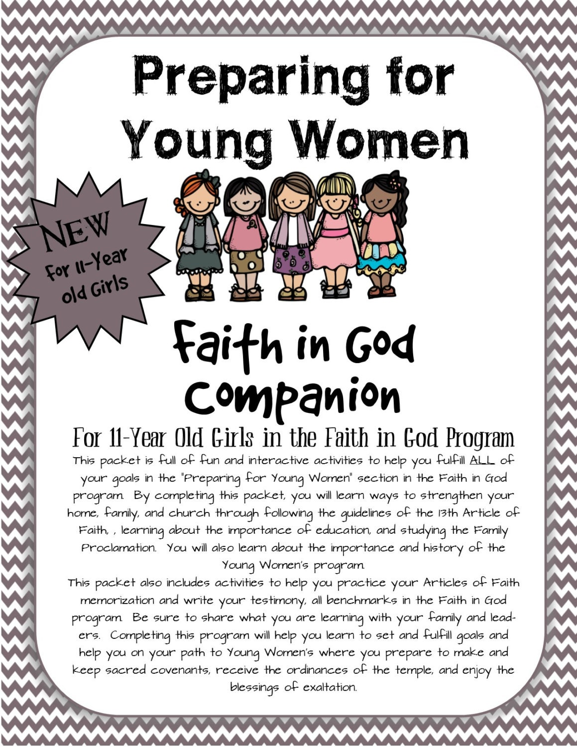 Faith in god for girls pdf