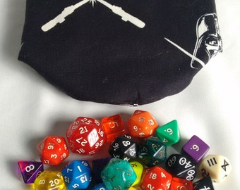 "Large dice bag type ""Star Wars: Darth Vader"""