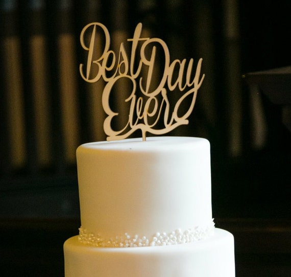 best wedding cake toppers ever best day cake topper wedding cake topper wooden wedding 11703
