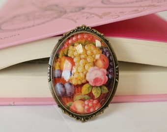Brooch Vintage Fruit