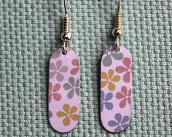 Floral Tag Earrings