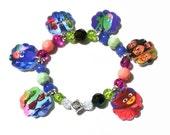 PJ Masks Charm Bracelet, PJ Masks Bracelet, PJ Masks Party Favor Bracelets