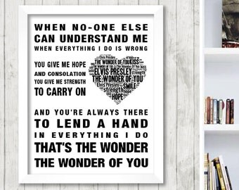 Song Lyrics Framed Art Prints | Fine Art America