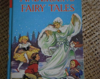 Hans Christian Andersen's Fairy Tales. The Children's Press. Children's vintage storybook collection