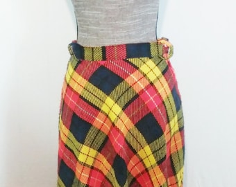 Primarily plaid- 1960's