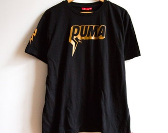 Cool Black Puma T-Shirt size L