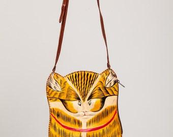 Ecuador leather cat bag