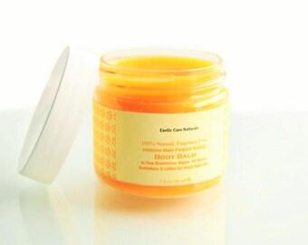 Organic Dry Skin Healing Repairing Vitamin E Multi Purpose Fragrance Free Natural Balm for Face, Body, Baby's Skin,Sensitive Skin and Winter
