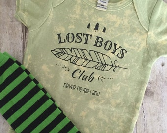 BABY BOY VINTAGE Boho t shirt, baby boys shirt, baby boys onesie, baby boy , funny baby boys t shirt, Peter Pan, lost boys club, tribal