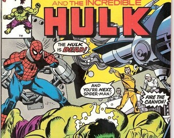Spiderman, the Incredible Hulk, Xmen, in Marvel Team Up 54 comic book. X-men, Spider-man, marvel comics, 1977. Choose FVF or VFNM (9.0)