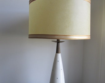 Retro Lamp Vintage Art Deco Lamp Eames Era Lamp With Original Shade -Vintage Street Sale-