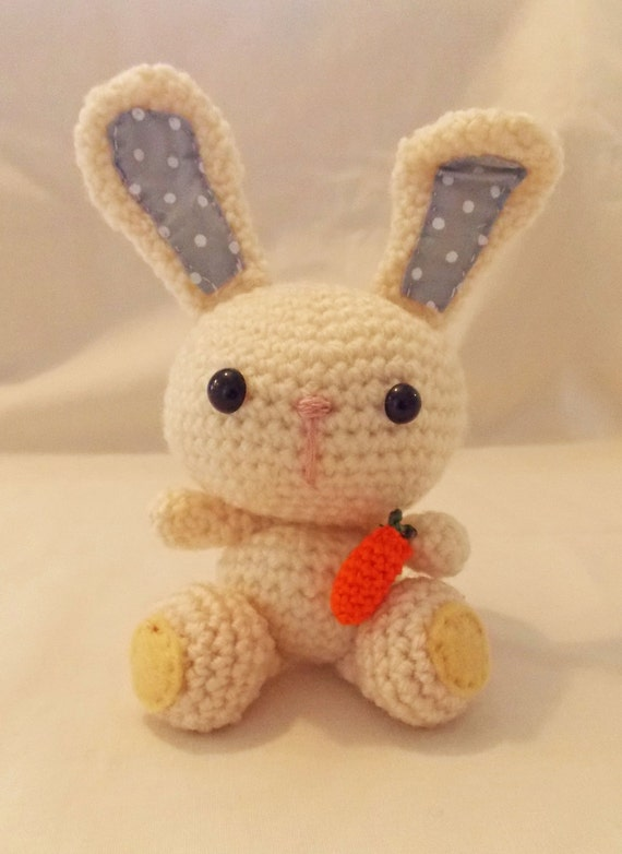 Etsy Amigurumi Bunny : Crochet Bunny Amigurumi Bunny Rabbit by sittingcrochet on Etsy