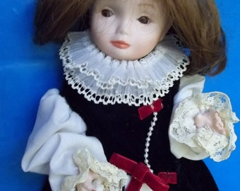 "SFBJ Paris Poulbot #239 Bisque Doll ""Artist Initialed"" France  FREE SHIPPING"