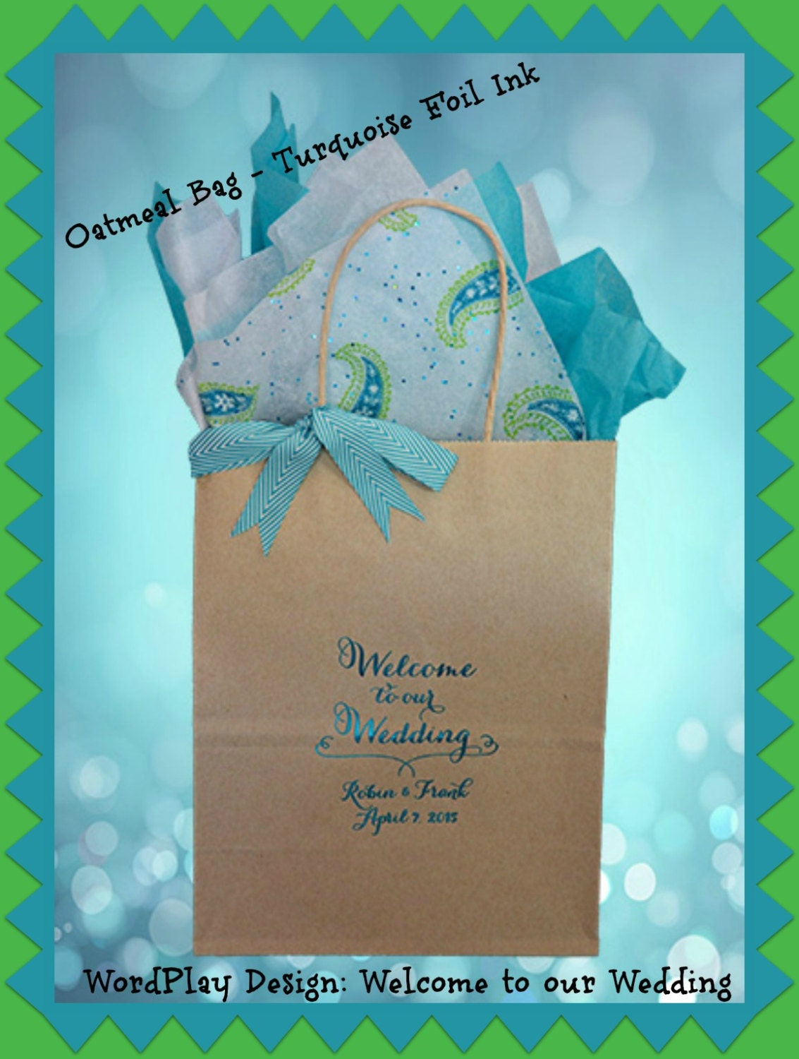 Unique Wedding Welcome Gifts : 25 Wedding Welcome Bags Personalized Wedding Hotel Guest Gift