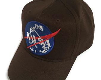 FREE Shipping - NASA Cotton Twill Pro Style Caps
