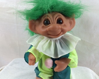 1980s Thomas Dam Clown Troll 10 inches Limited Edition Jester