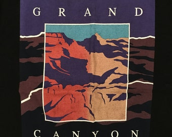Vintage Tourist Tshirt - Grand Canyon - Vacation Tshirt - Vintage Arizona Tshirt - Large