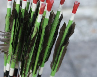 Vintage handmade arrows, super quirky piece (bundle of 10,  2 available)