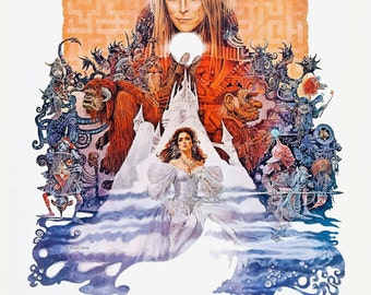 Labyrinth movie poster print Labyrinth 1986 Wallpaper