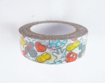 Disney Mickey Mouse Washi Tape