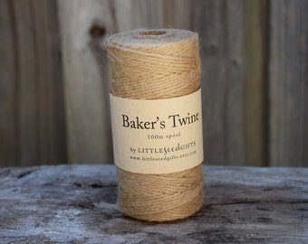 Jute Twine 12ply Packaging Twine FREE SHIPPING - 100m