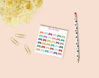 Video Game Controllers: Mini Size! Planner stickers, perfect for the Erin Condren Life Planner!