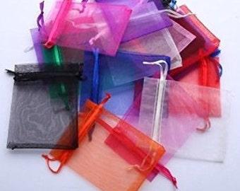 Drawstring Organza Bracelet Pouch Bag