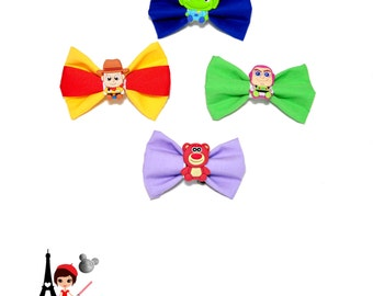 Toy Story bows - Disney Woody, Buzz Lightyear, Alien and Lotso Bear