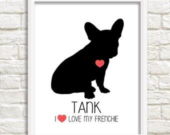 Personalized Dog Print