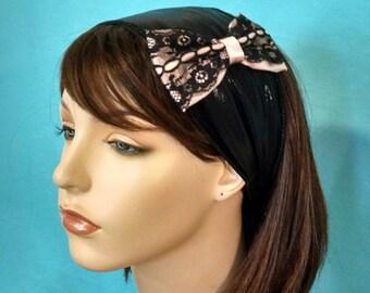 ELEGANT BOW stretch headband