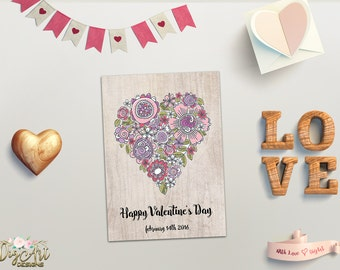valentines day presents rustic etsy 31036