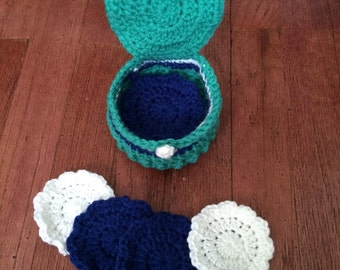 Crochet Coaster Gift Set