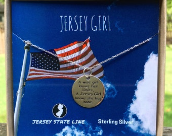 Jersey Girl Charm Necklace
