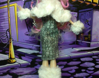 Ready Fur Winter, Monster high doll Clothes