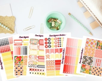 Sunset Floral Weekly Kit