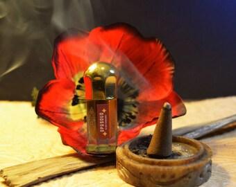 Opusoud Mukhallat perfume oil 3ml--opium, oud, tobacco, amber, vanilla, musk